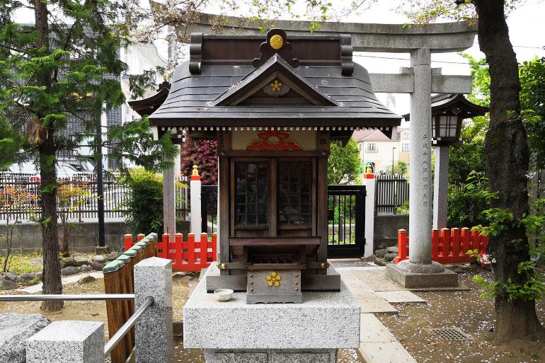 田島御嶽神社 天神社(学問の神 菅原道真公)