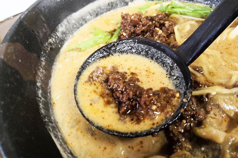 東浦和 麺処ごまや 肉味噌