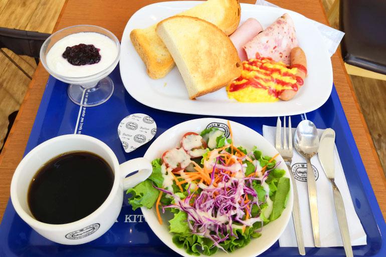 浦和駅 神戸屋キッチン モーニング