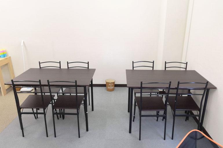 浦和 コワーキングスペース「コタイム」テーブル席