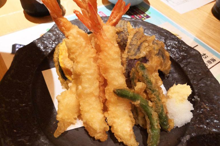 浦和パルコ すし波奈食べ放題 天ぷら