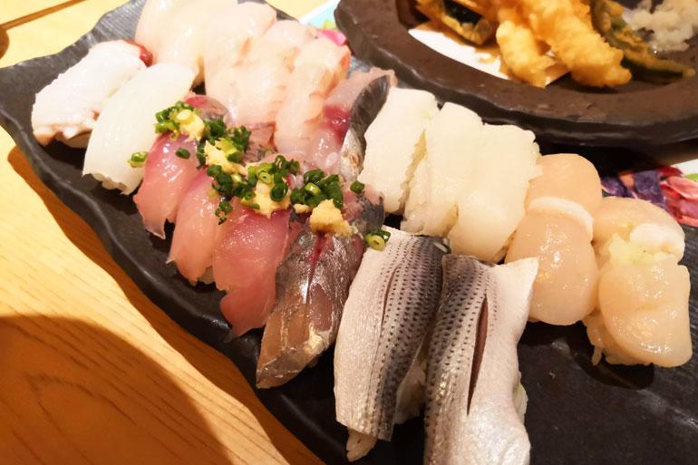 浦和パルコ すし波奈食べ放題 お寿司