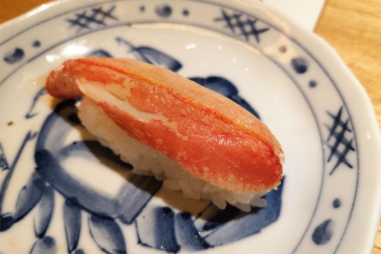 浦和パルコ すし波奈食べ放題 お寿司 かに