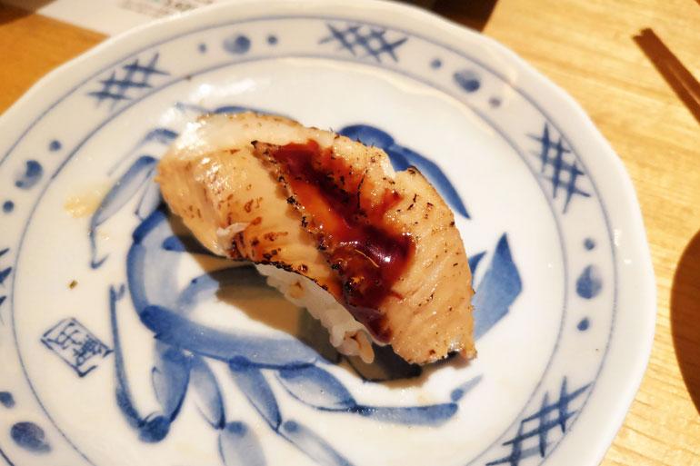 浦和パルコ すし波奈食べ放題 お寿司 穴子