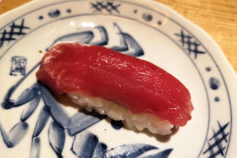 浦和パルコ すし波奈食べ放題 お寿司 赤身