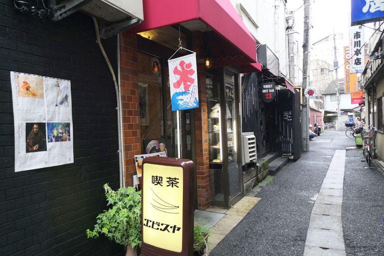 浦和 恵比寿屋喫茶店 外観