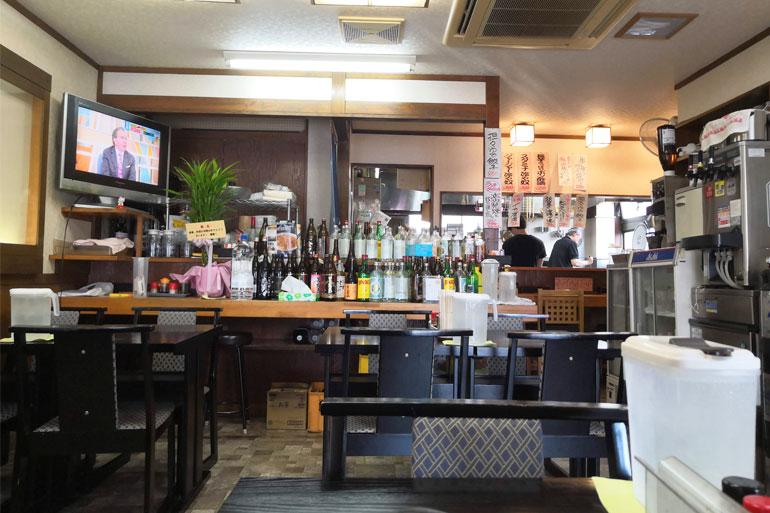 中浦和 風雅食堂(ふうがさかば) 旧 中浦和娘娘 店内