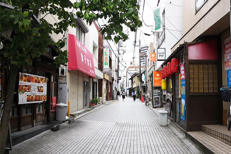 浦和 裏門通り