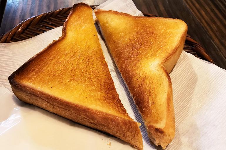 浦和 やじろべえ珈琲店 バタートースト