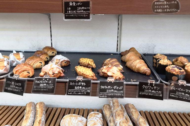 浦和駅近くのパン屋 KU~NERUbakery(クーネルベーカリー)色々なパン