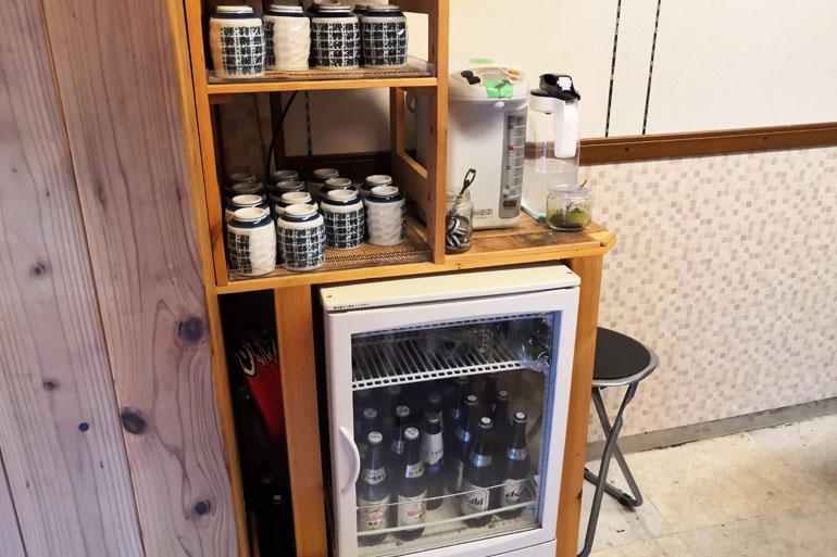 浦和 寿司リベルテ お水お茶はセルフサービス
