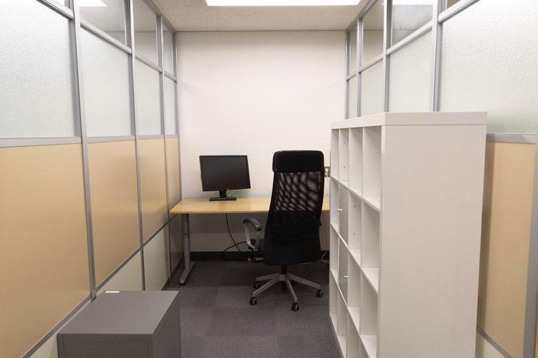 武蔵浦和 シェアオフィス「MyDeskSpace」席タイプ:C13
