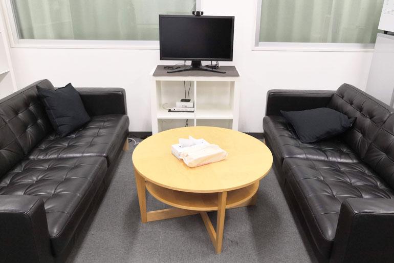 武蔵浦和 シェアオフィス「MyDeskSpace」オフィス内 会議室