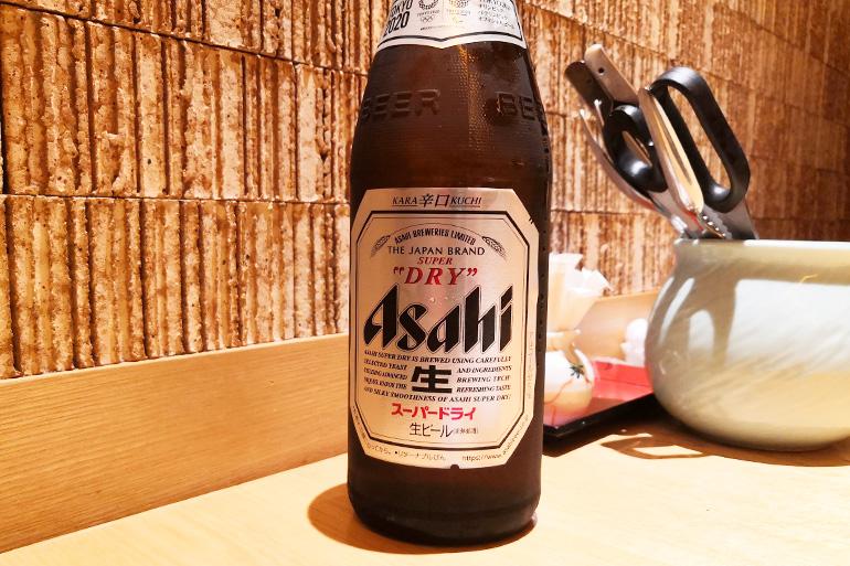 ズワイガニも食べ放題!浦和パルコ「すし波奈」の寿司食べ放題 瓶ビール