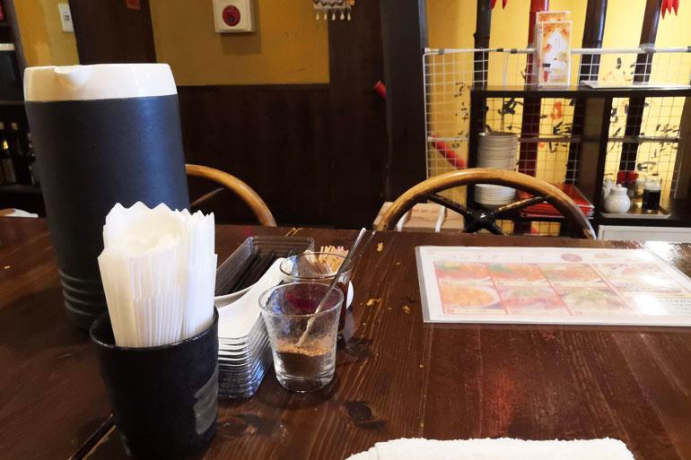 刀削麺酒家 浦和店 店内