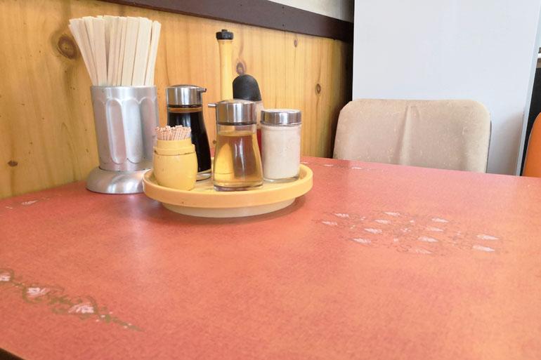 浦和 中華料理「華月」店内