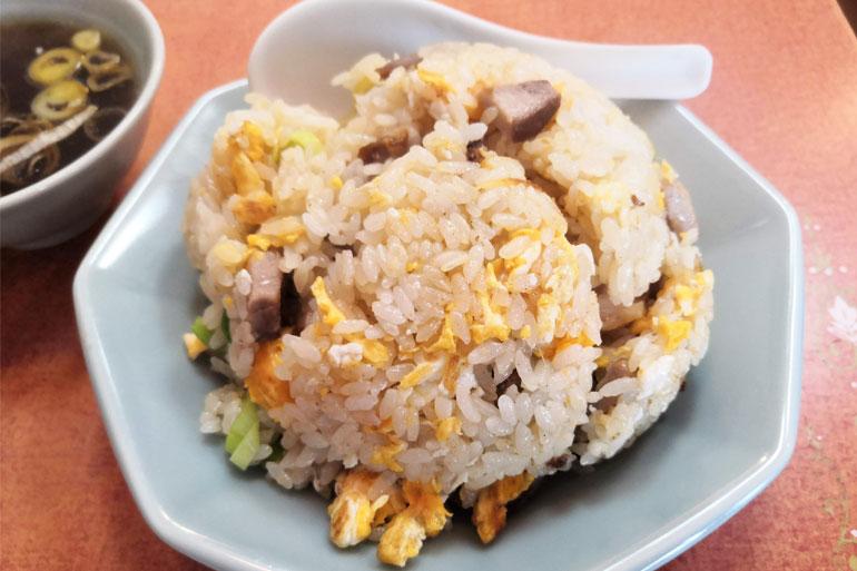 浦和 中華料理「華月」炒飯