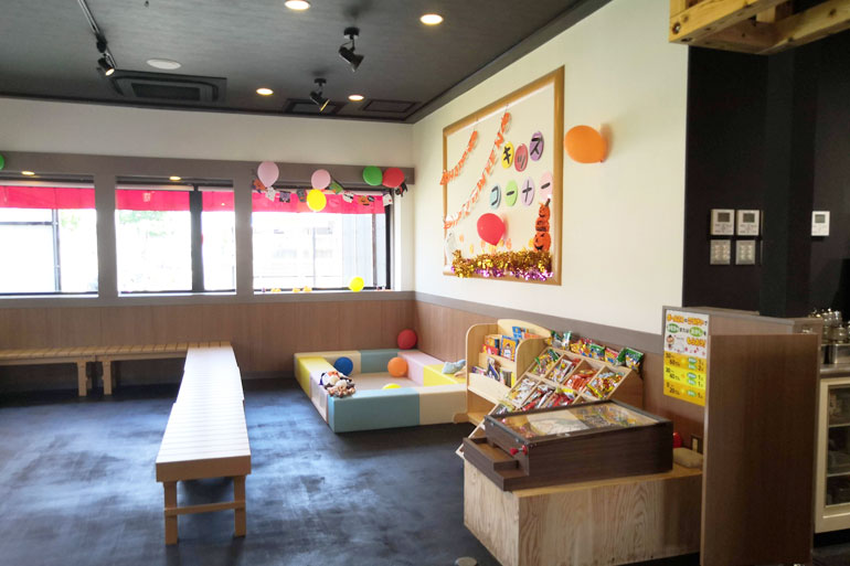 横浜家系ラーメン町田商店 浦和店 キッズスペース
