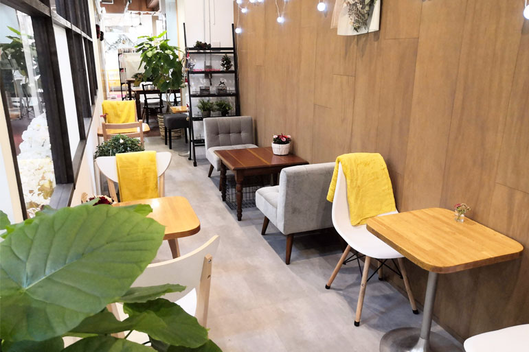 Cafe D⁺(カフェ ディープラス)店内