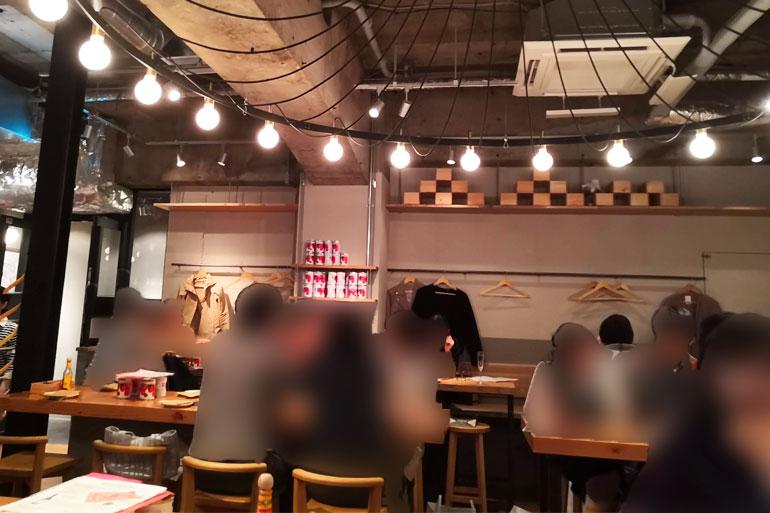 ワインの酒場 DiPUNTO(ディプント)浦和店 店内
