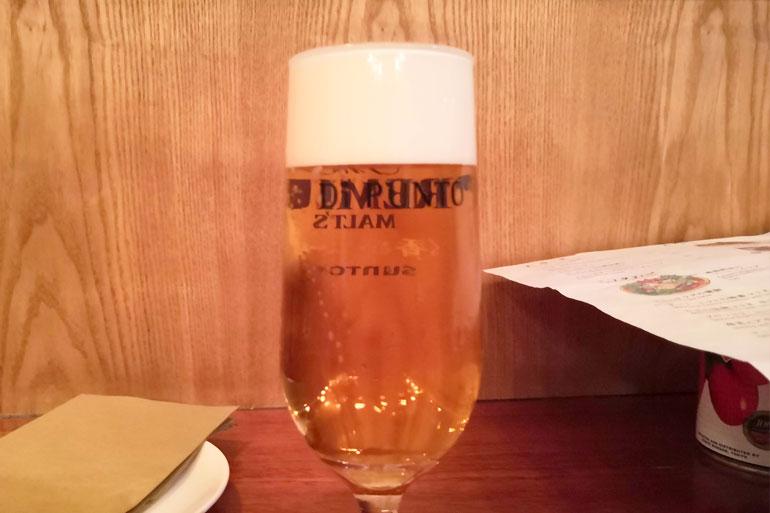 ワインの酒場 DiPUNTO(ディプント)浦和店 生ビール