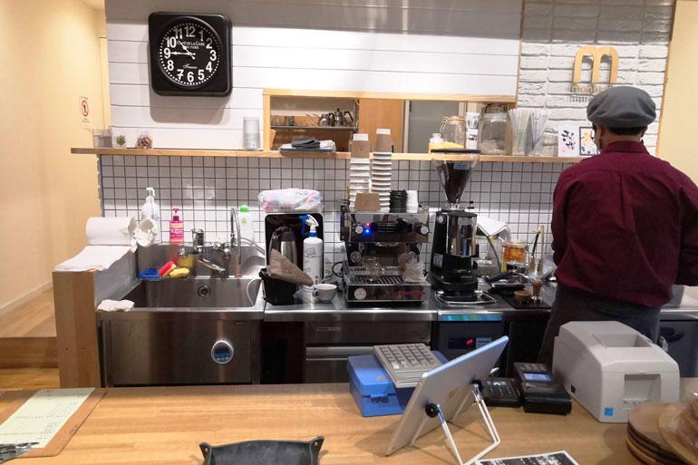 浦和のコミュニティスペース「ONVO SALON うらわ」バリスタ5senses espresso