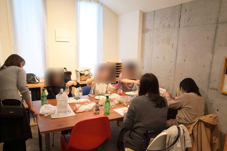 浦和のコミュニティスペース「ONVO SALON うらわ」貸し会議室2 ハーバリウムレッスン