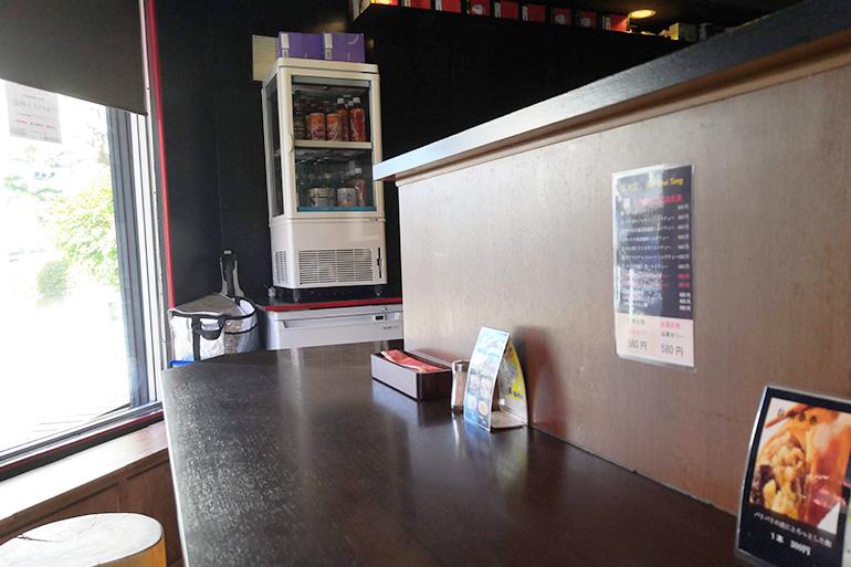 北浦和 台南食堂 店内