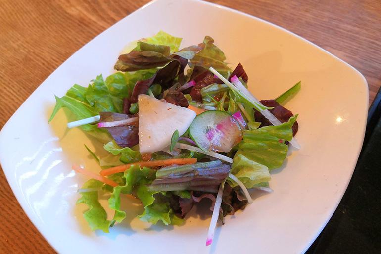 分上野藪 かねこ 有機サラダ