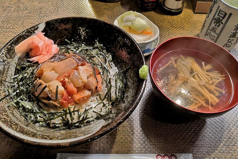 わか大将の海鮮丼ランチ