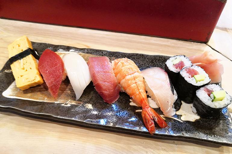 冨士寿司 ランチにぎり