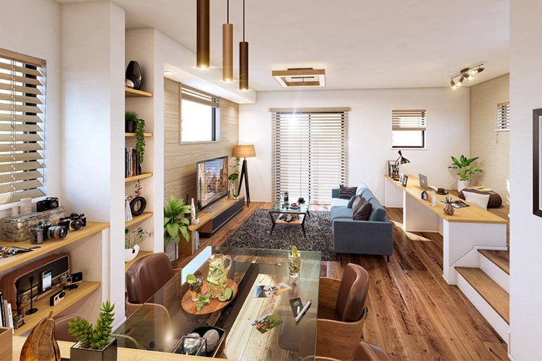 2路線3駅利用可能な浦和ライフ『マインドスクェア武蔵浦和』(全12邸)暮らしの幅を広げる個性豊かな3つのスタイルプラン