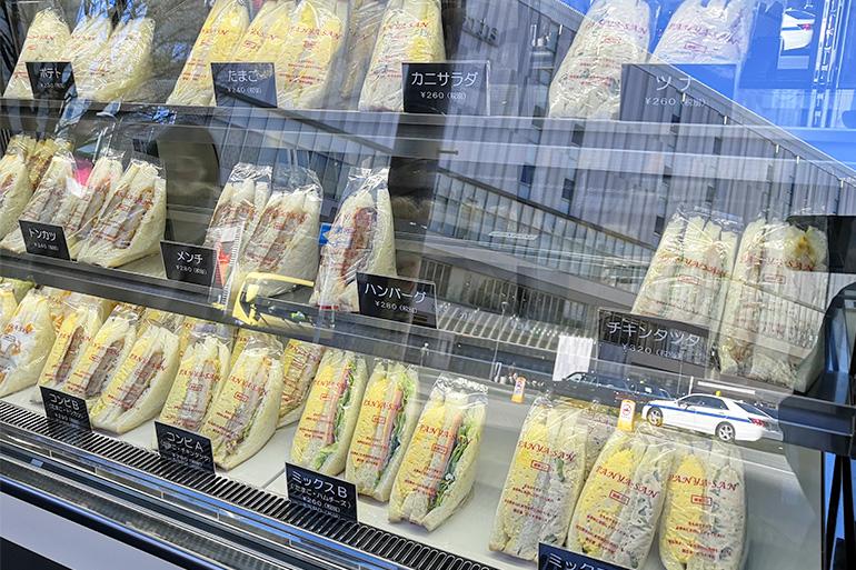 サンドイッチ専門店panya-san 商品ラインナップ