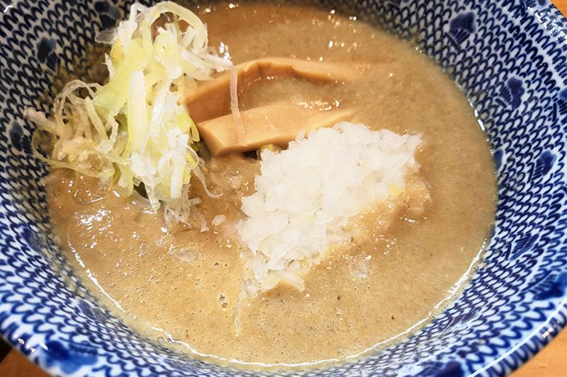 西浦和TANGO つけ麺 どろどろスープ