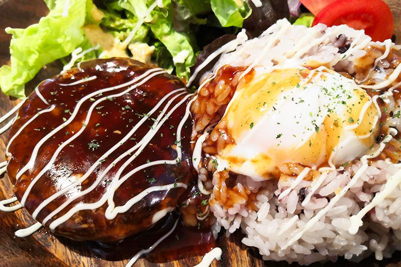 087cafe(オハナカフェ)ロコモコ