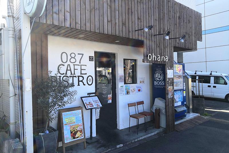 東浦和の素敵なカフェ087cafe 外観