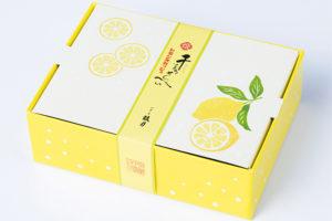 鼓月(こげつ)姫千寿せんべい初夏限定フレーバー「レモンスカッシュ」発売 伊勢丹浦和店でも
