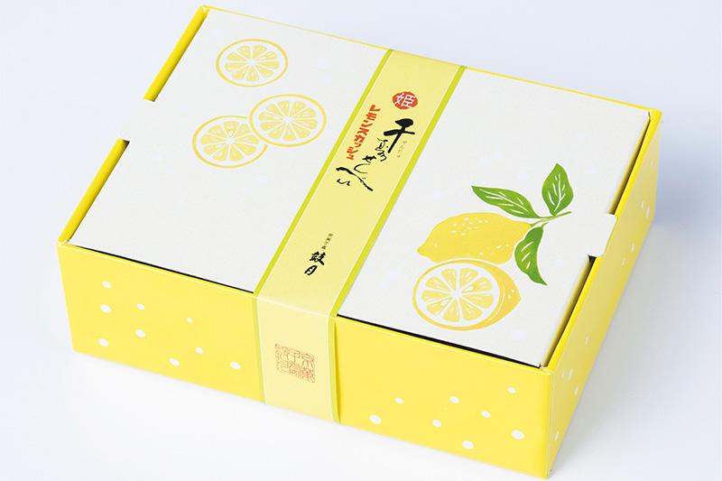 鼓月(こげつ)姫千寿せんべい初夏限定フレーバー「レモンスカッシュ」発売