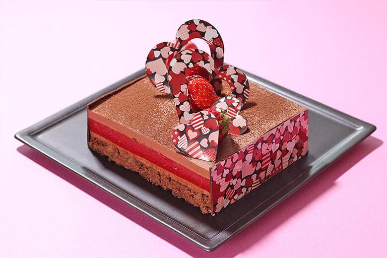 2月期間限定 バレンタインケーキアップグレード ¥1,000(税込)