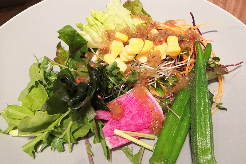 さいたまヨーロッパ野菜、埼玉県産野菜のサラダバー