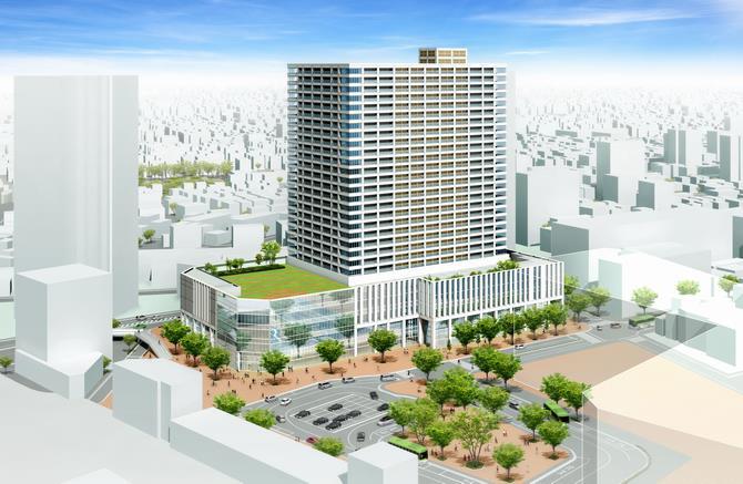 浦和駅西口南高砂地区第一種市街地再開発事業
