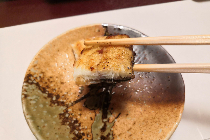 鰻の塩焼き