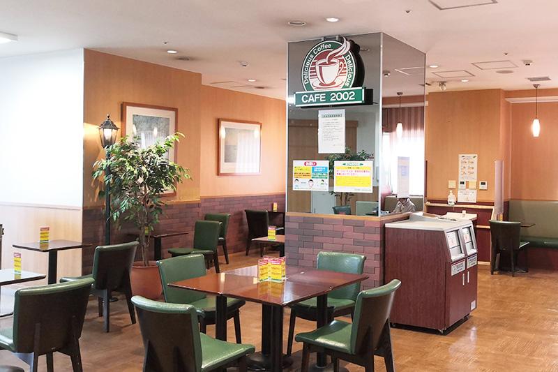 cafe2002 店内