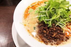 北浦和駅すぐの四川担担麺専門店「阿吽」至極の旨辛ラーメンが食べられる