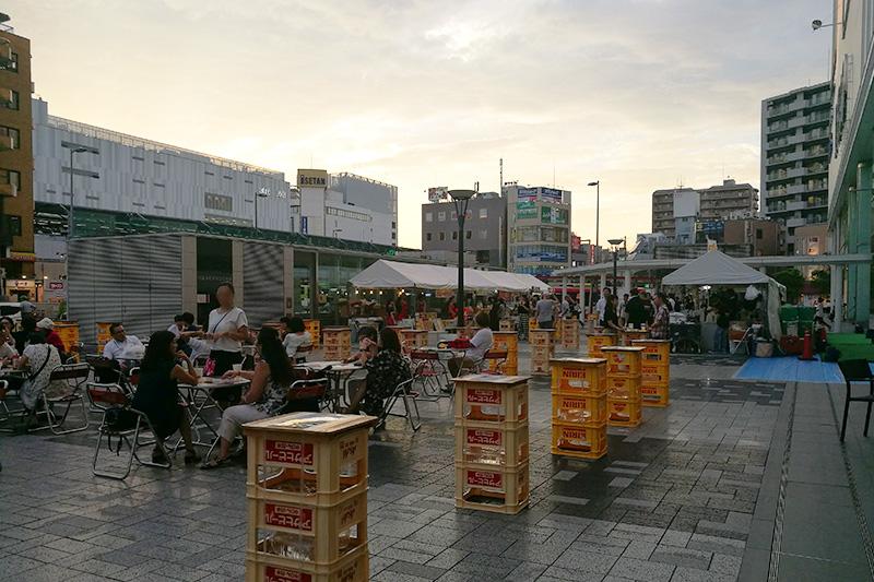 パルコ前で飲める!「URAWA SUMMER TERRACE」8月8日〜14日まで開催