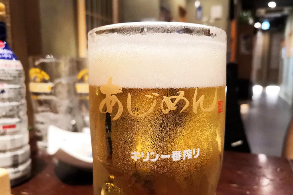 追加の生ビール