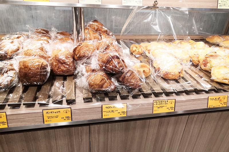ブーランジェベーグのパンたち