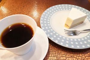 老舗喫茶店「茶房コマ」でいただくこだわりケーキ。静かでゆっくりできる空間