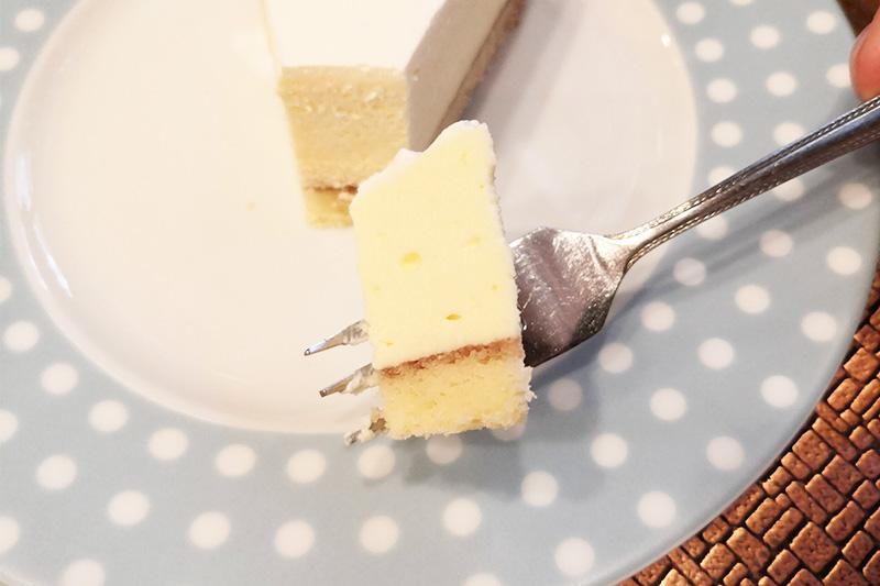 チーズケーキをひとくち