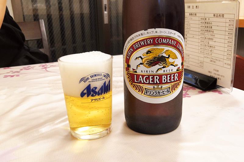 キリンラガービール大瓶